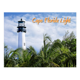 Cape Florida Lighthouse, Key Biscayne Postcard