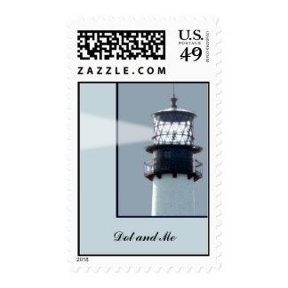 Cape Florida Lighthouse Postage Stamp