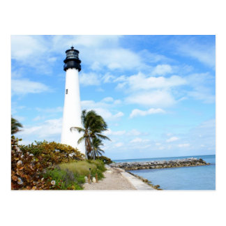 Cape Florida Lighthouse Postcard