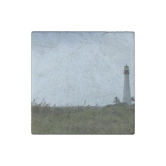 Cape Florida Lighthouse Stone Magnet