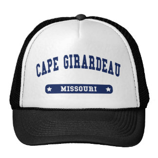 Cape Girardeau Missouri College Style t shirts Trucker Hat