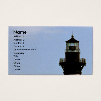 Cape Hatteras Business Card