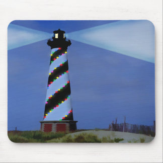 Cape Hatteras Holiday Lights Mousepad