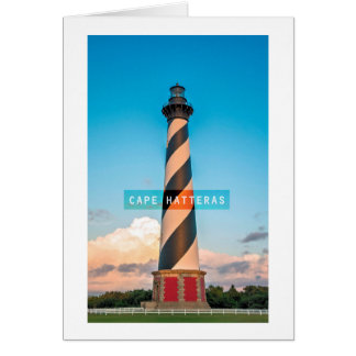 Cape Hatteras Light. Greeting Card