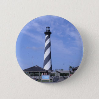 cape hattera's light house nc pinback button