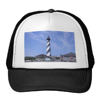 cape hattera's light house nc trucker hat