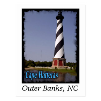 Cape Hatteras Light House Post Card