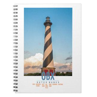 Cape Hatteras Light. Spiral Notebook