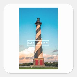 Cape Hatteras Light. Square Sticker