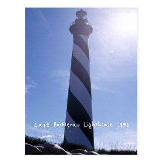 Cape Hatteras Lighthouse 1996 Sea Erosion Sandbags Postcard