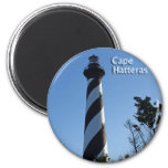 Cape Hatteras Lighthouse 2 Inch Round Magnet