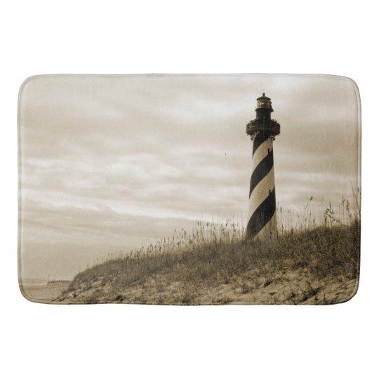 Cape Hatteras Lighthouse Bath Mat Zazzle Com