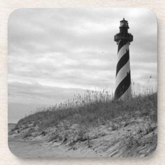 Cape Hatteras Lighthouse Beverage Coaster