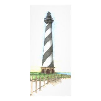 Cape Hatteras Lighthouse bookmark Full Color Rack Card