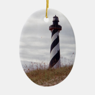 Cape Hatteras Lighthouse Ceramic Ornament