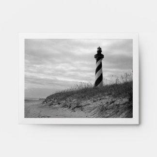 Cape Hatteras Lighthouse Envelope