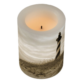 Cape Hatteras Lighthouse Flameless Candle