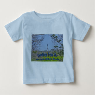 Cape Hatteras Lighthouse from Wetlands Series Baby T-Shirt