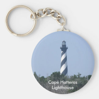Cape Hatteras Lighthouse from Wetlands Series Keychain