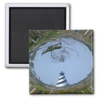 Cape Hatteras Lighthouse from Wetlands Series Magnet