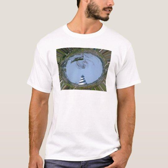 Cape Hatteras Lighthouse from Wetlands Series T-Shirt