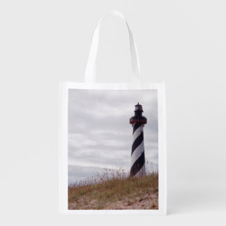 Cape Hatteras Lighthouse Grocery Bag