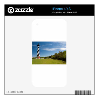 cape hatteras lighthouse iPhone 4 decals