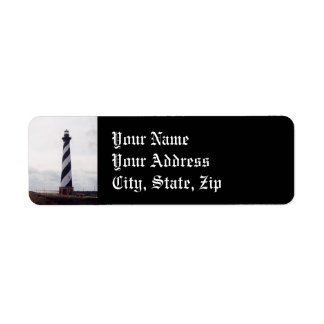 Cape Hatteras Lighthouse Label