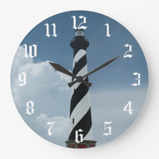 Cape Hatteras Lighthouse Large Clock