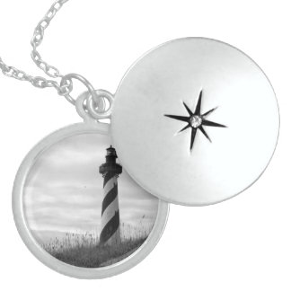 Cape Hatteras Lighthouse Locket Necklace