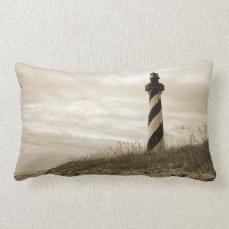 Cape Hatteras Lighthouse Lumbar Pillow