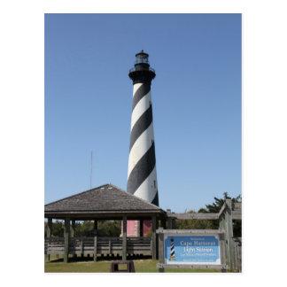 Cape Hatteras Lighthouse NC, postcard
