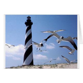 Cape Hatteras Lighthouse North Carolina lighthouse Card