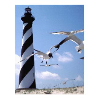 Cape Hatteras Lighthouse North Carolina lighthouse Letterhead