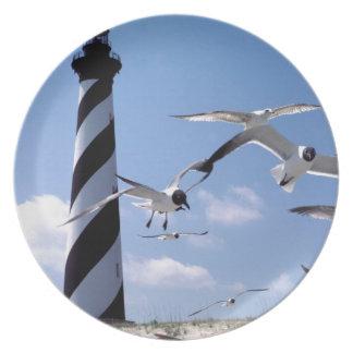 Cape Hatteras Lighthouse North Carolina lighthouse Dinner Plate