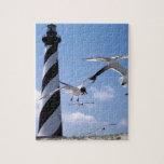 Cape Hatteras Lighthouse North Carolina lighthouse Puzzle