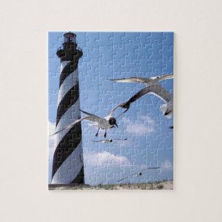 Cape Hatteras Lighthouse North Carolina lighthouse Puzzles