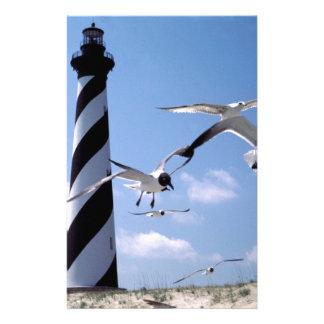 Cape Hatteras Lighthouse North Carolina lighthouse Stationery