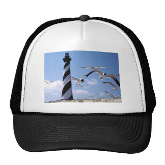 Cape Hatteras Lighthouse North Carolina lighthouse Trucker Hat