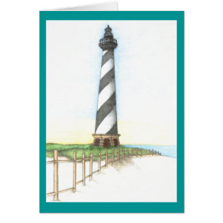 Cape Hatteras Lighthouse Note Card