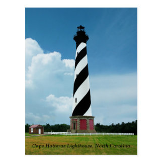 Cape Hatteras Lighthouse Outer Banks NC Postcard