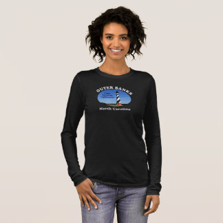 Cape Hatteras Lighthouse Outer Banks --T-shirts Long Sleeve T-Shirt