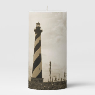 Cape Hatteras Lighthouse Pillar Candle