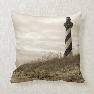 Cape Hatteras Lighthouse Pillow