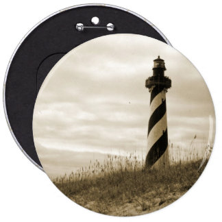 Cape Hatteras Lighthouse Pinback Button