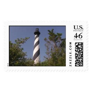 cape hatteras lighthouse postage stamp