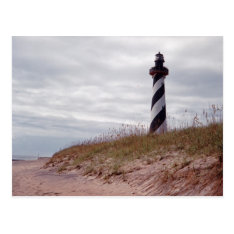 Cape Hatteras Lighthouse Postcard at Zazzle