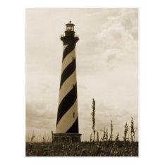 Cape Hatteras Lighthouse Postcard at Zazzle