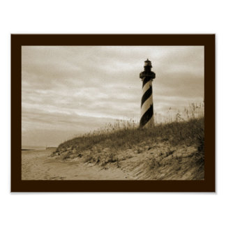 Cape Hatteras Lighthouse Poster