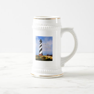 Cape Hatteras Lighthouse Poster  North Carolina Beer Stein